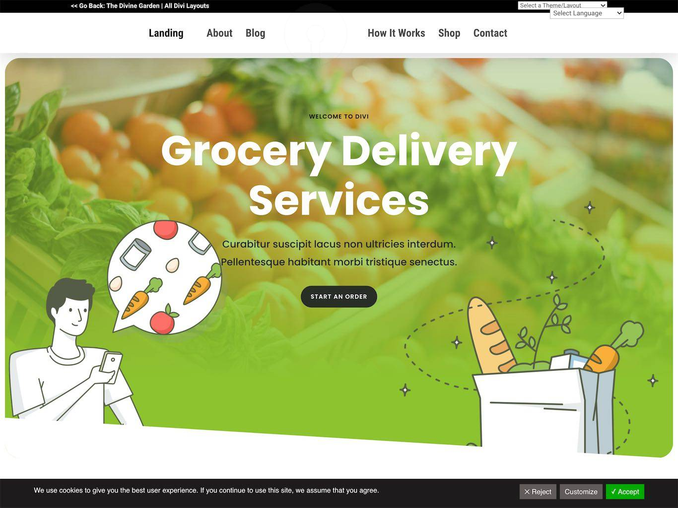 Grocery Delivery – 226